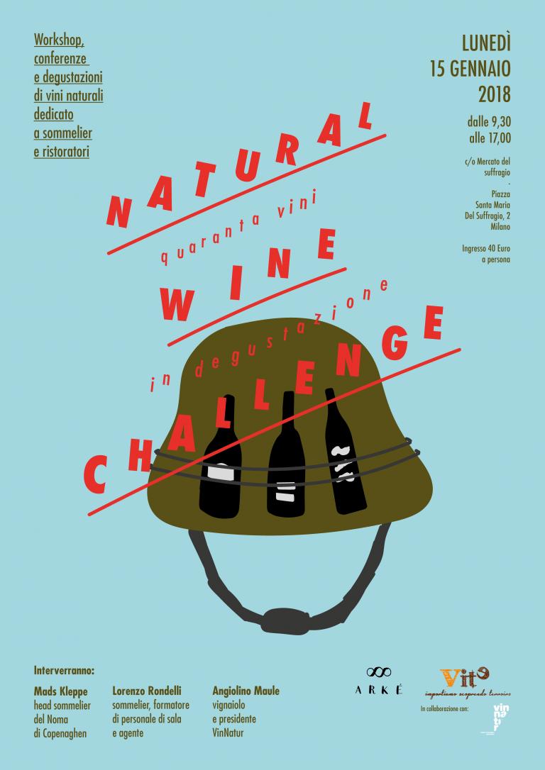 NATURAL WINE CHALLENGE 15.01.2018